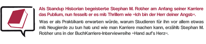 Interview Stephan M. Rother
